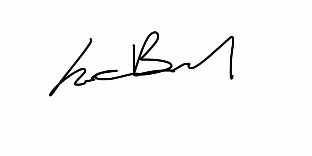 Jean Luc Brouard Signature