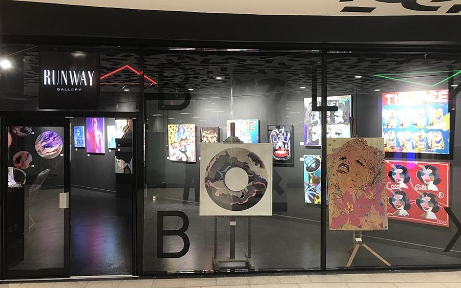 Runway Gallery @BLKBX Trinity Leeds
