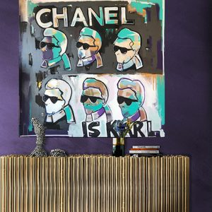 chanel is Karl room set by grazie