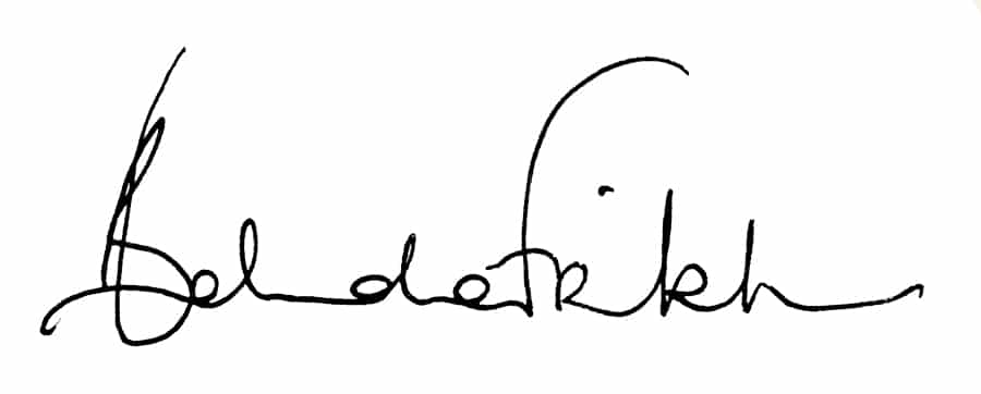 Belinda Frikh Signature