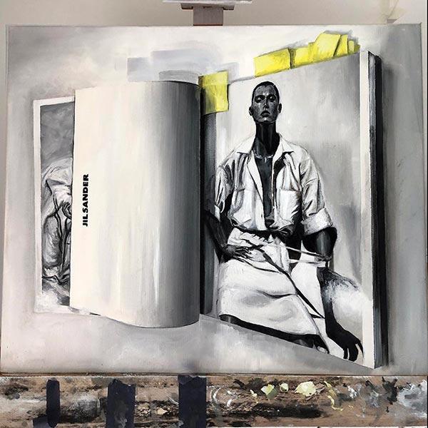 Jill-Sander-SS06-GG-Stokes-61x51cm-oil-on-canvas