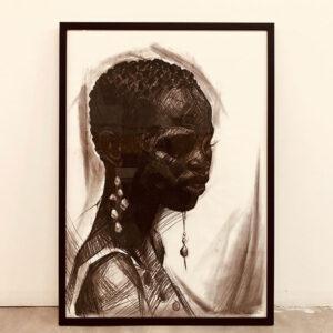 HanaTischler-African-Woman-1.100x70cm800