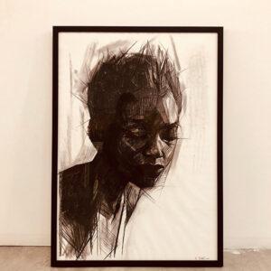 HanaTischler-African-Woman-2.100x70cm800