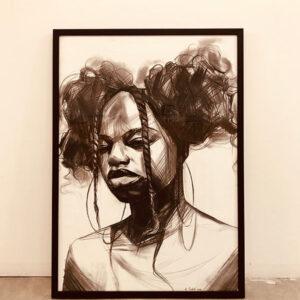 HanaTischler-African-Woman-3.100x70cm-800
